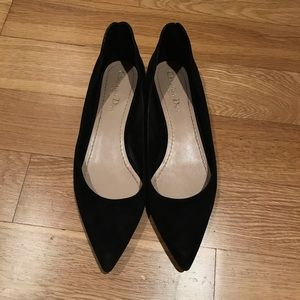 Dior shoes black suede flats